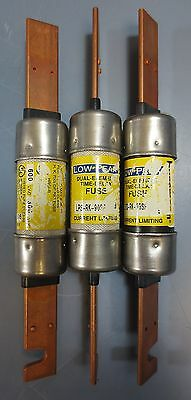 Lot of 3 Cooper Bussmann Dual Element Time Delay Fuse LPS-RK-90SP 90 A