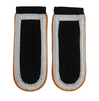 German Army NCO SCHARFUHRER SHOULDER Boards - PIPING COLOUR OPTION- WW2 Repro