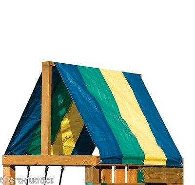 Multicolor Canopy Swing N Slide Replacement Tarp Roof Shade