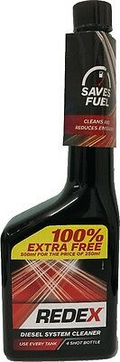 REDEX DIESEL INJECTOR AND FUEL SYSTEM CLEANER ADDITIVE 250ml+100% Free RADD2201A