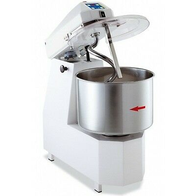 SPIRAL DOUGH MIXER 42 LITERS - 38KGS (84lb) - 2 SPEED - WITH TIMER