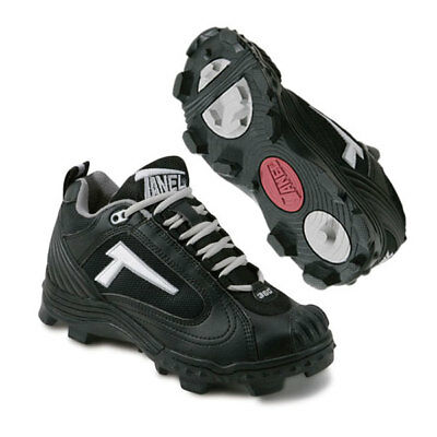 Tanel 360 REV-D Low PT Baseball/Softball Cleats - Black - (M) 7.0 / (W) 8.5