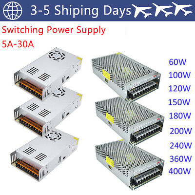 DC 12V 24V 5V 10A 12.5A 15A 20A 30A Universal Regulated Switching Power Supply