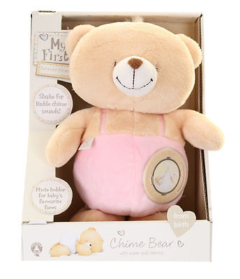 My First Forever Friends - Chime Bear - Pink - 1943 - New