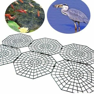 Pond guard pest fish protector floating cover net garden for Garden pond guards