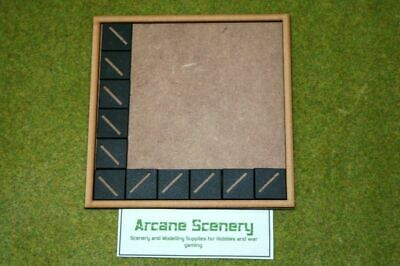 MDF laser cut MOVEMENT TRAY (6×6) 20mm Infantry Bases