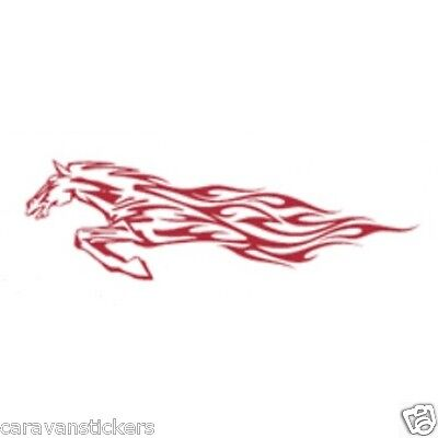 Horsebox Trailer Sticker Decal Graphic STYLE 1 - SINGLE