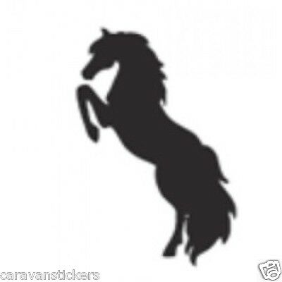 Horsebox Trailer Sticker Decal Graphic STYLE 2 - SINGLE