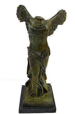 Nike of Samothrace Bronze statue Ancient Greek Winged Victory artifact
