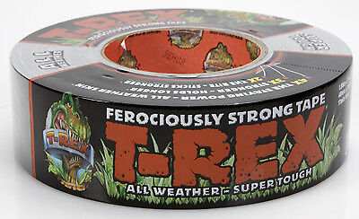 T-Rex Ferociously Strong Duct Cloth Repair Tape All Weather Thick Heavy Duty