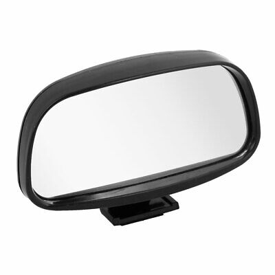 Black Shell Trapezoidal Convex Wide Angle Car Rear View Blind Spot Mirror