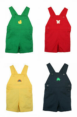 BNWT Designer Short Dungarees by Cololo 6 months - 3 years 4 colours 5 designs