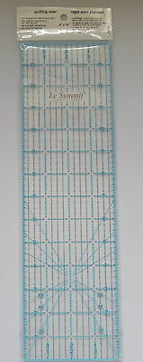 """summit   grid QUILTING PATCHWORK ROTARY RULER 4 inch x 14"""""""