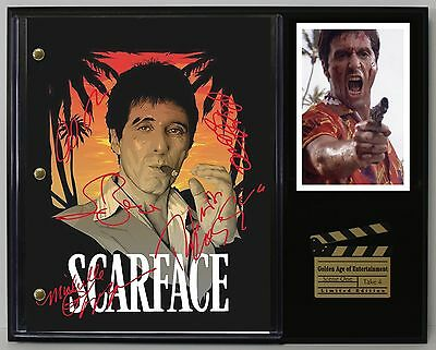 Scarface - Reprinted Autograph Hollywood Script Display - USA Ships Free