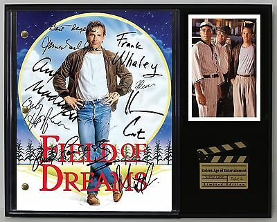 Field of Dreams - Autographed Reprint Hollywood Script Display USA Ships Free