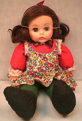Horsman Doll with soft cloth body, vinyl head, 1970's all original