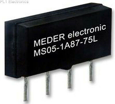 Meder - Ms12-1A87-75L - Relay, Reed, Microsil, 12Vdc
