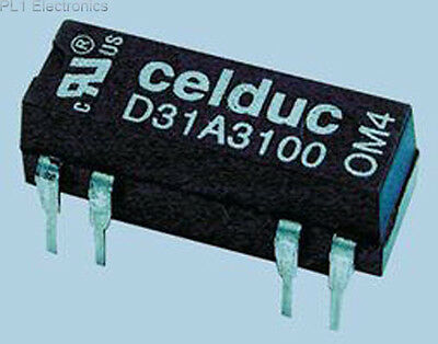 Celduc - D31A3100 - Relay, Reed, 1No, 5Vdc