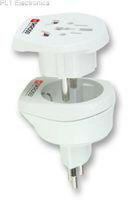 World Connect - 1.500206 - Travel Adapter, Swiss & Europe