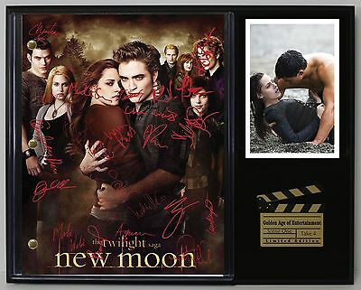 The Twilight Saga - Reprinted Autograph Movie Script Display - USA Ships Free
