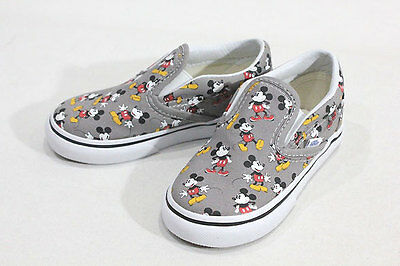 DISNEY x VANS CLASSIC SLIP-ON UNISEX Shoes (MICKEY MOUSE) BRAND  NEW in BOX!!