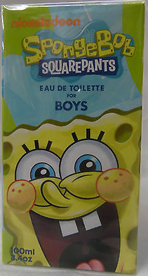 Spongebob Squarepants By Nickelodeon 3.4 Oz / 100 Ml Edt Spray Nib For Boy