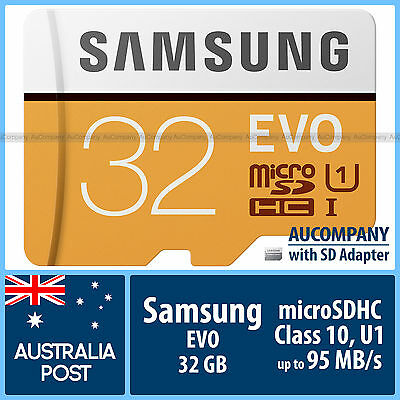 Samsung 64 GB 64G micro SD SDXC EVO Plus 80MB/s Class 10 TF Memory Card Adapter