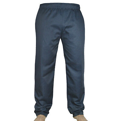 Black Chef Trousers 100% Cotton pants 3 Pockets - Comfortable for Unisex !!!