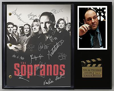 The Sopranos - Reprinted Autograph Television Script Display - USA Ships Free