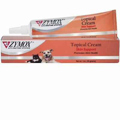 ZYMOX Topical Cream without Hydrocortisone Dog Cat Topical infections wounds