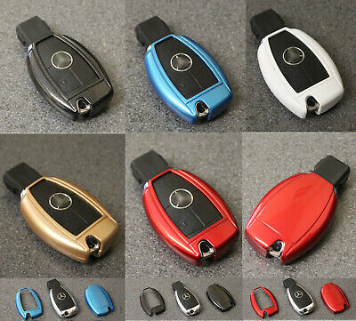 Key Cover Case for Mercedes Smart Remote Fob Protector 2 3 4 Button Hull Bag 70