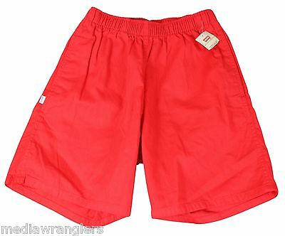 """NEW VTG 80s LEVIS Red SHORTS 29"""" Waist Youth Medium Adult X-Small Deadstock NWT!"""