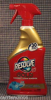 1 Resolve Gold Laundry Stain Remover 30 Seconds Action 1st Time Stain Removal
