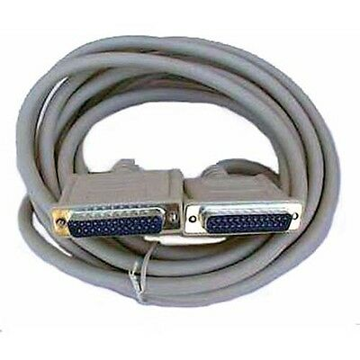 RS-232/DB25 Male-Male Cable 15 feet long ( P315M )