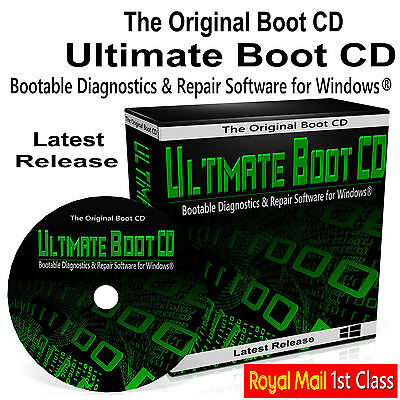 Windows Recovery Repair Restore Software Boot Disc DVD  Fix PC Laptop Computers