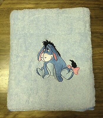 Embroidered Bath  Towel  - ' Eeyore'