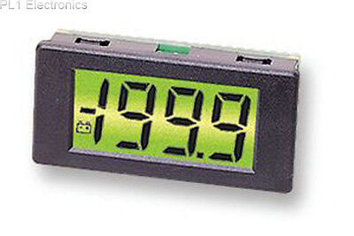 Lascar - Dpm 3As-Bl - Voltmeter, Lcd, 3.5Digit, 40Mm