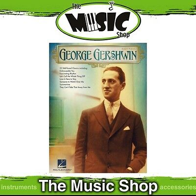 New George Gershwin Music Book for Easy Piano