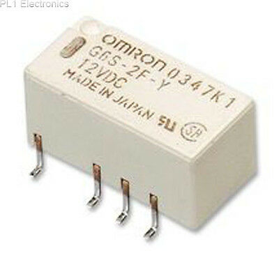 Omron Electronic Components - G6Su2F5Dc - Relay, Dpdt, 2A, Smd, Latching, 5V