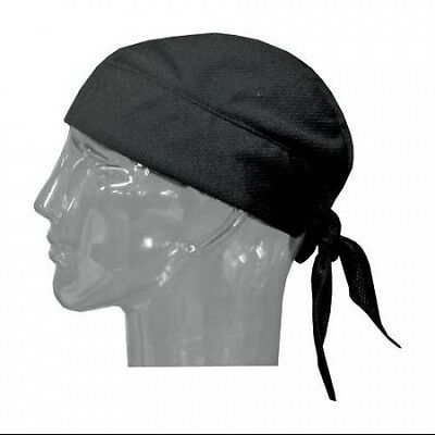 HyperKewl Evaporative Cooling Skull Cap Black One Size. Free Delivery