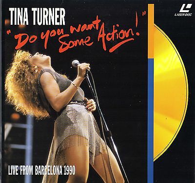 Tina Turner - Live From Barcelona 1990 Clv Pal Laserdisc Collector