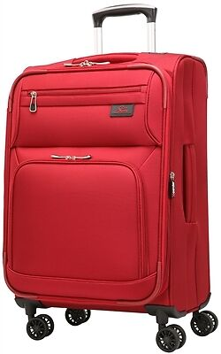 """Skyway Sigma 5.0 21"""" Expandable Spinner Carry-on  Merlot Red"""