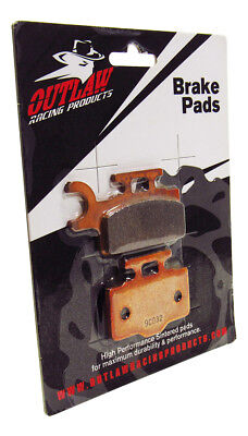 Outlaw Racing OR302 Front Sintered Brake Pads-Dirt Bike SUZUKI RM65 2003-2005