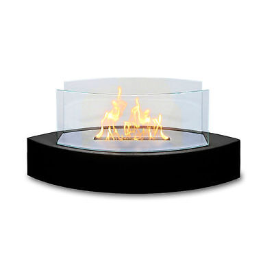 Anywhere Fireplace Lexington Tabletop Bio Ethanol Fuel Black Home Indoor Outdoor