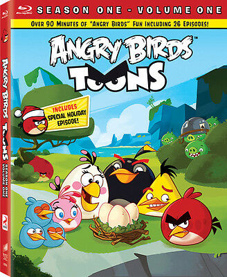 Angry Birds Toons, Vol. 1 (Blu-ray Used Very Good) BLU-RAY/WS