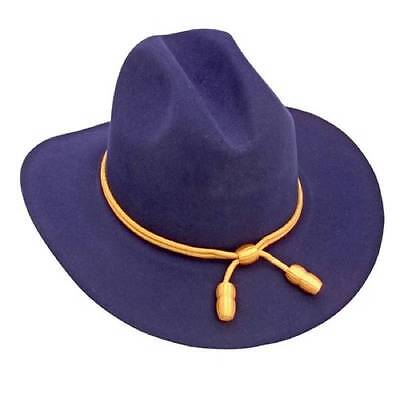 US Civil War Union Cavalry Officer's Hat With Gold Cord Size Medium (7-7 1/8)