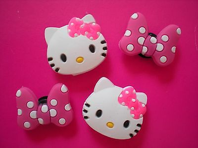 Jibbitz Croc Clog Shoe Charm Plug Button Holey Accessories Bracelet Hello Kitty