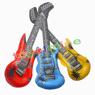 Guitar Kids PVC Inflatable Blow Up Halloween/Beach/Pool/Themed Party toy