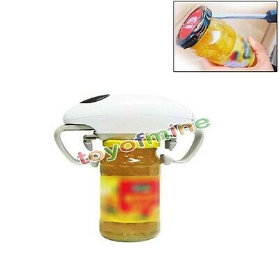 Handsfree Beach Open Ease Automatic Jar Opener New Free Shipping One Touch White