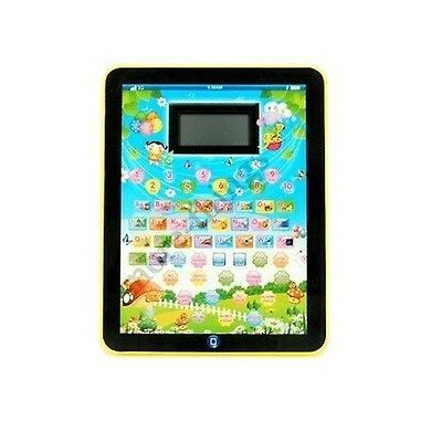 CHILDREN'S LAPTOP LEARNING COMPUTER PAD(NORMAL ENGLISH) Blue 5801